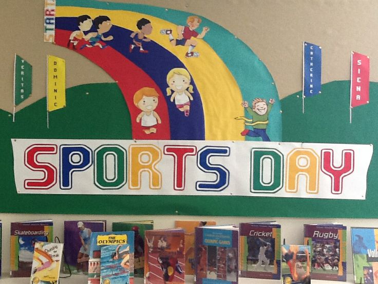 Library Displays Sports Day