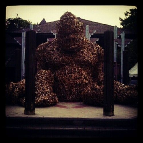 #ape #monster #ogre #art #rattan #instagram by... —