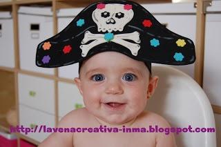 La vena creativa: Cómo hacer un GORRO PIRATA