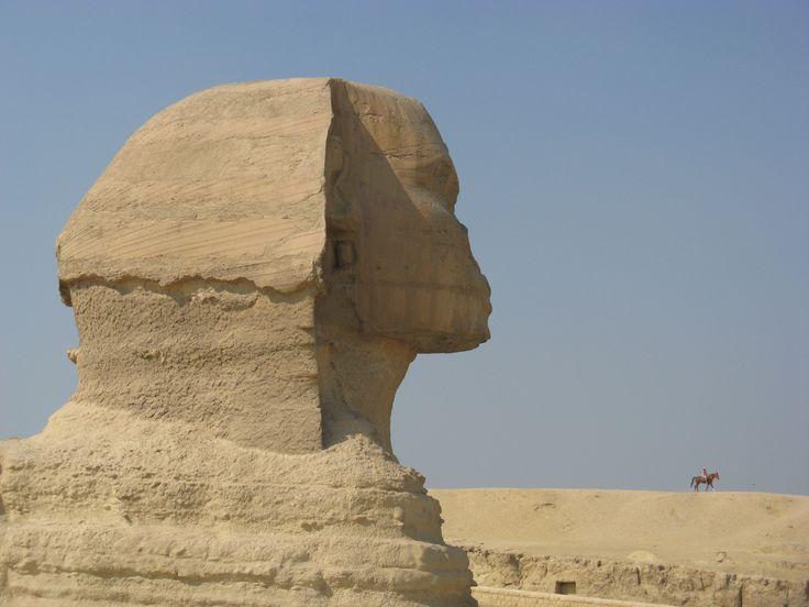 Egypt. Sfinga.