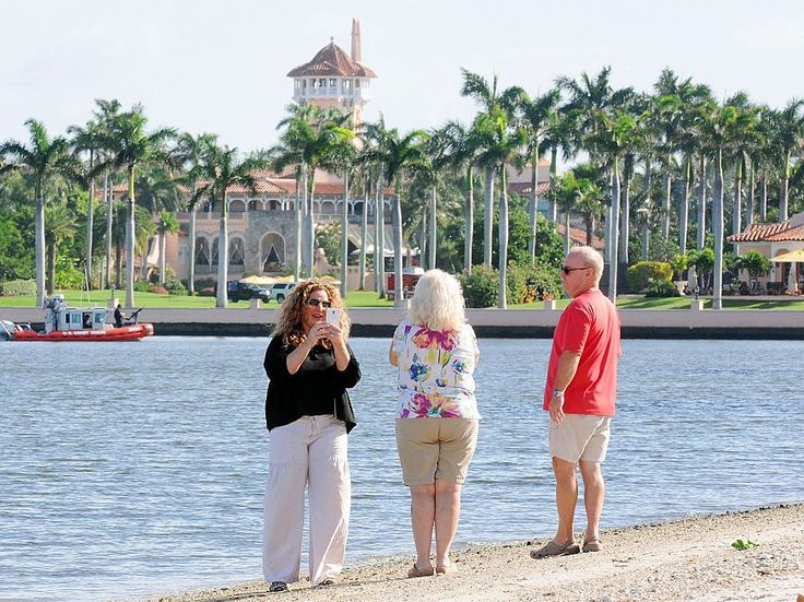 Trump's climate budget cuts could hurt the town his Mar-A-Lago resort is in
