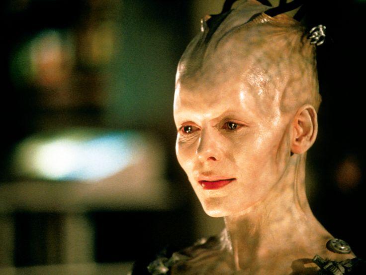 borg queen makeup