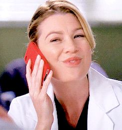 meredith grey phone   haha mine gifs2 phone 2k Grey's Anatomy Cristina Yang Meredith Grey ...