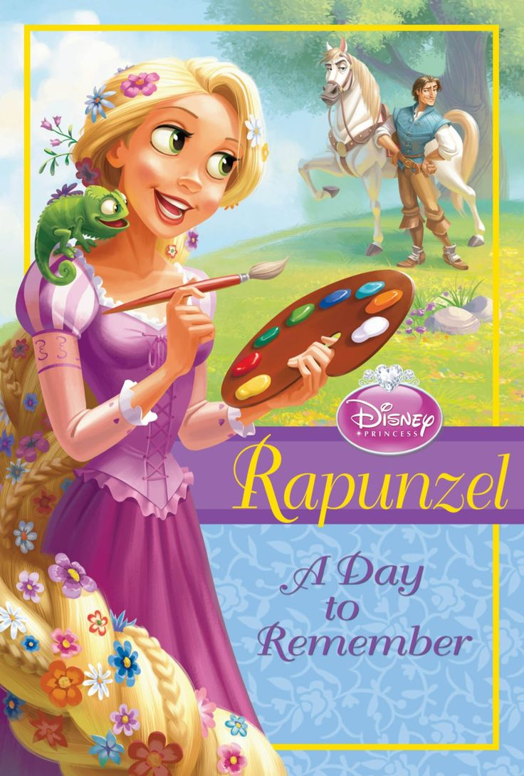 Disney Princess Rapunzel A Day To Remember Early Chapter Books