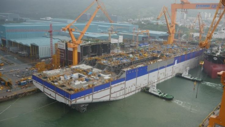 Ichthys FPSO hull launched | Offshore Energy Today