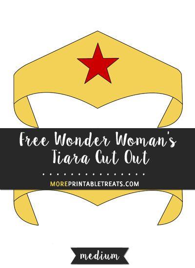 321 best Wonder Woman Printables images on Pinterest Wonder