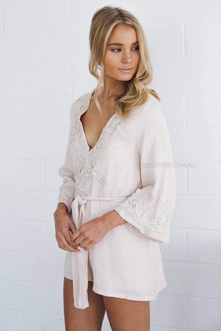 bailey playsuit - blush | Esther clothing Australia and America USA, boutique online ladies fashion store, shop global womens wear worldwide, designer womenswear, prom dresses, skirts, jackets, leggings, tights, leather shoes, accessories, free shipping world wide. – Esther Boutique