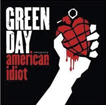 """L'album dei #GreenDay intitolato """"American Idiot""""."""
