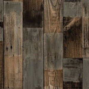 Sheet vinyl flooring with a lovely old aged wood effect 'Brera 547'