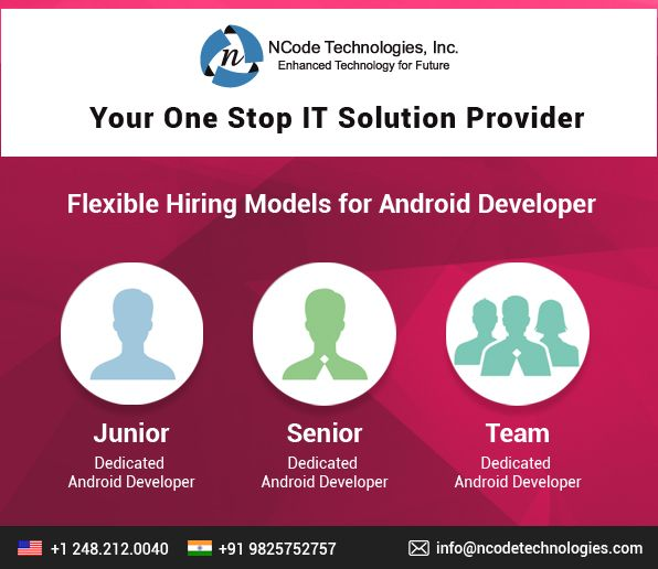 Searching for cost-effective #Android #Apps #Development #Services? #hire #dedicated #android #application #developer to get affordable android app #solutions at NCode Technologies, Inc.