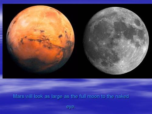 Are We Headed for a Close Encounter with Mars?: Slide #3
