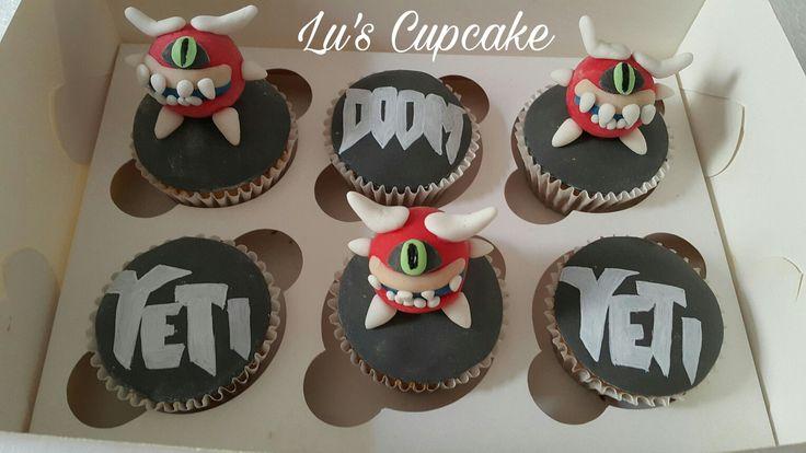 Doom cupcake