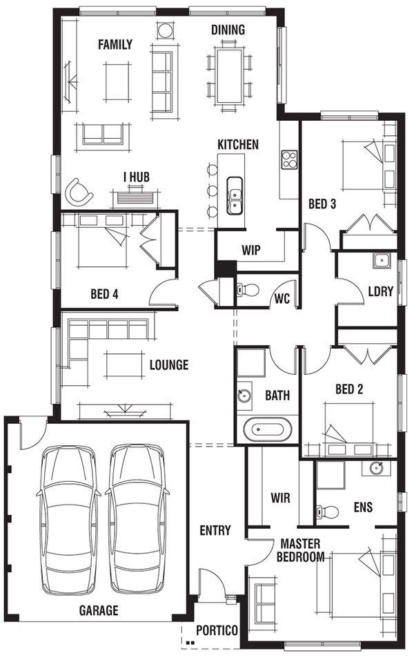 Porter Davis Homes - House Design: Bermuda