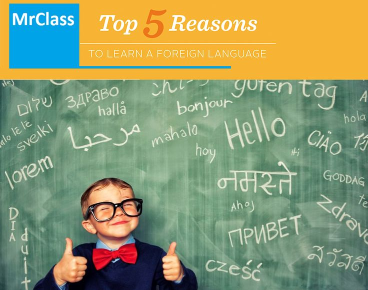 5 Reasons To Learn A Foreign Language  'English Mania' is sweeping the world and it will be only fair to say that the English language is perhaps the undisputed global language. Then why bother learning another language other than English? https://mrclassbbsr.wordpress.com/