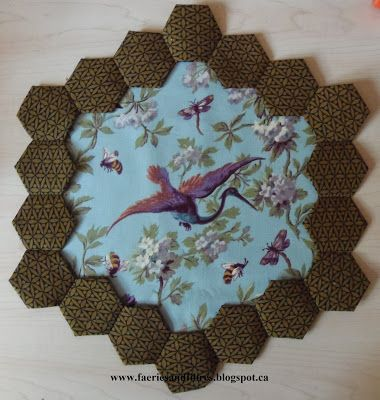 On this page you'll find tutorials, instruction books and links related to my previous posts about English paper piecing, hexagons and diam...