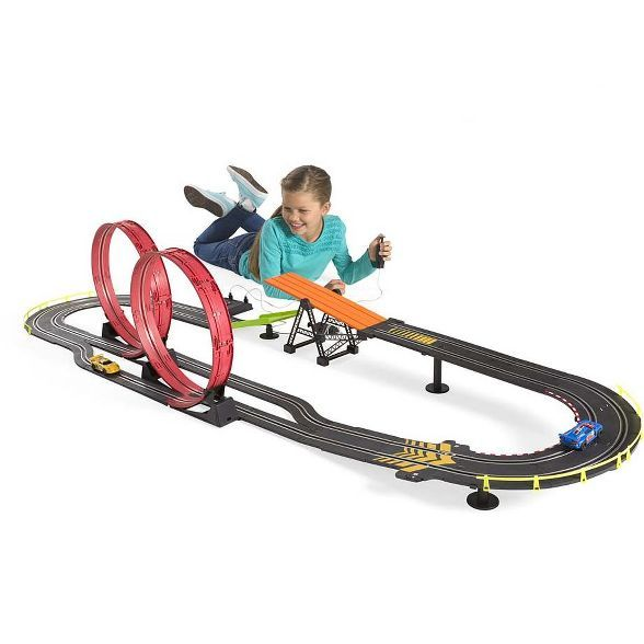 Road Star Challenge With Two Race Cars And Track 16 5 L Hearthsong Target Race Cars Racing Learning Toys For Toddlers