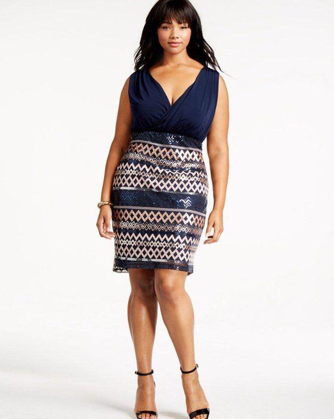 Plus size night out dresses. #plussize #dresses #trendy2017 #forplussize