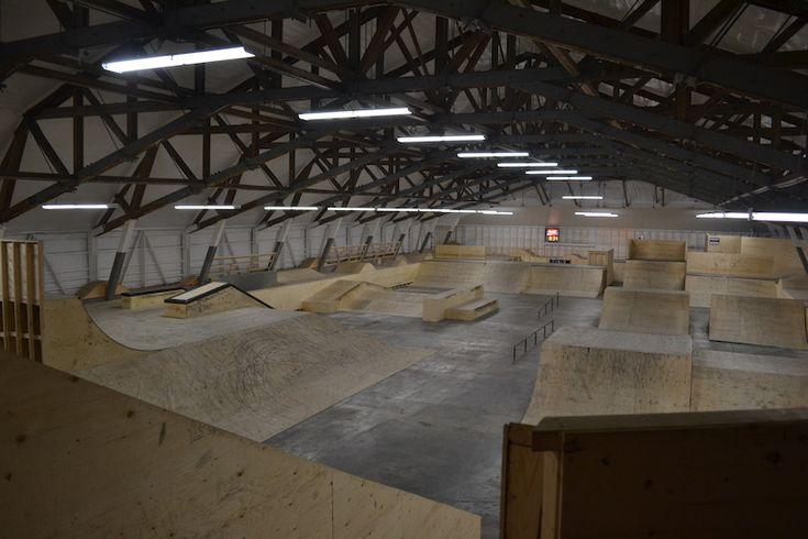 big interior skatepark - Google Search