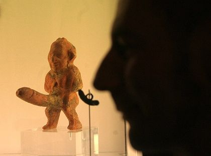 """Priapus: A new exhibition in the Neanderthal Museum in Mettmann explores the fascinating history of """"100,000 Years of Sex."""" It begins Feb. 3 and runs until May 20."""