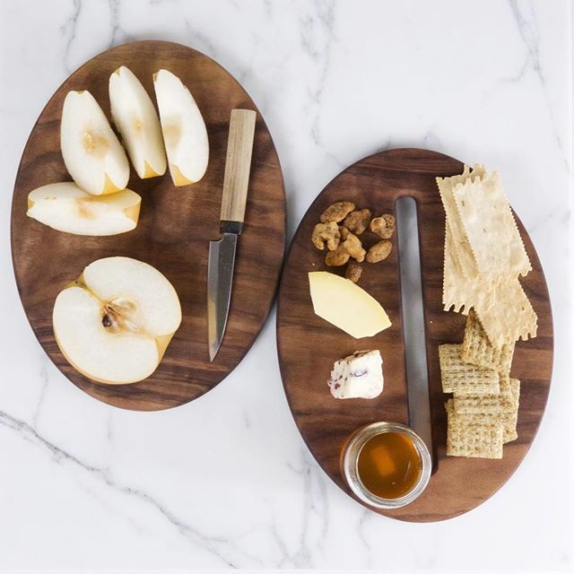 Saturn Board in Walnut . A cutting and serving board that fit together to form a kinetic sculpture for your kitchen. Coming soon to our website. - - #saturnboard #walnut #cuttingboard #homedecor #outofthisworld #mahoneys #walnutoil #kinetic #kitchen #kitchendesign #cuttıngboards #handmade #foodporn #butcherblock #handcrafted #decor #cheeseboard #tapas #modern #minimal #midcentury #kitchendecor #kitchenlife #servingboard #cheeseboard #homegoods #homedecor #homegoodshappy #homegoodsfind…