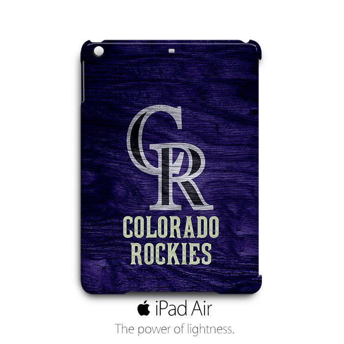 Colorado Rockies Custom iPad Air Case Cover Wrap Around