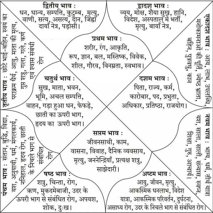 Image result for vedic astrology chart