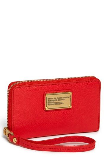 MARC BY MARC JACOBS 'Classic Q - Wingman' Phone Wallet available at #Nordstrom ... in black of course