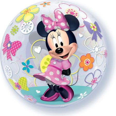 Minnie Mouse Bow-Tique 22in Bubble Balloon
