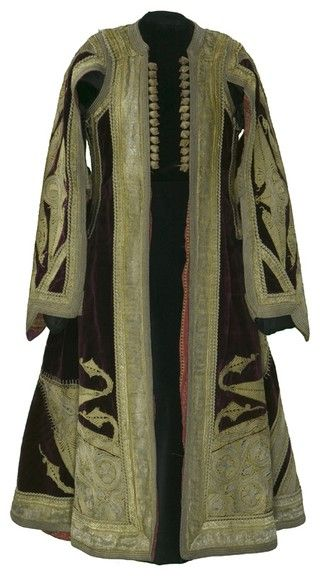 Clothing - Garment  Object Name:Coat  Place Made:Europe: Eastern Europe, Balkans, Albania  Period:Late 19th to early 20th century  Date:1880 - 1920