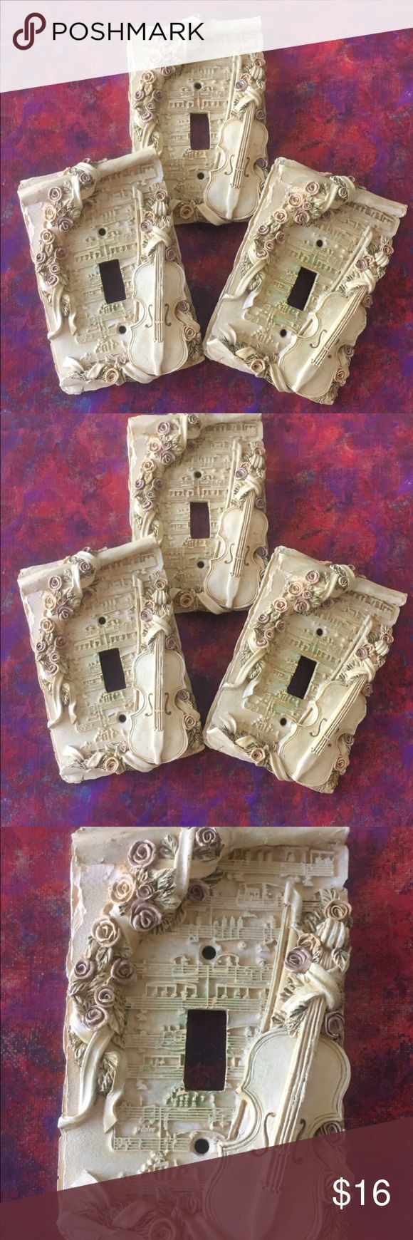 3 decorative wall outlet covers musical sculpted outlet on wall outlet id=39672