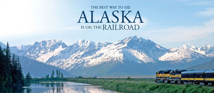 The Best Way to See Alaska is on the Railroad. www.AlaskaRailroad.com