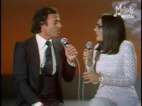 Nana Mouskouri & Julio Iglesias  -  La Paloma   - In live