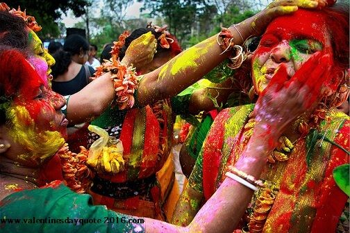 {[Bengali]}*Holi Greeting SMS Wishes Pics Wallpapers Quotes - Happy holi Day 2017 Quotes,Ideas,Wallpaper,Images,Wishes