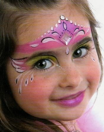 princess face paint   only non toxic paints used the two faces experience is safe long ...