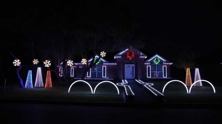 2013 Johnson Family Dubstep Christmas Light Show