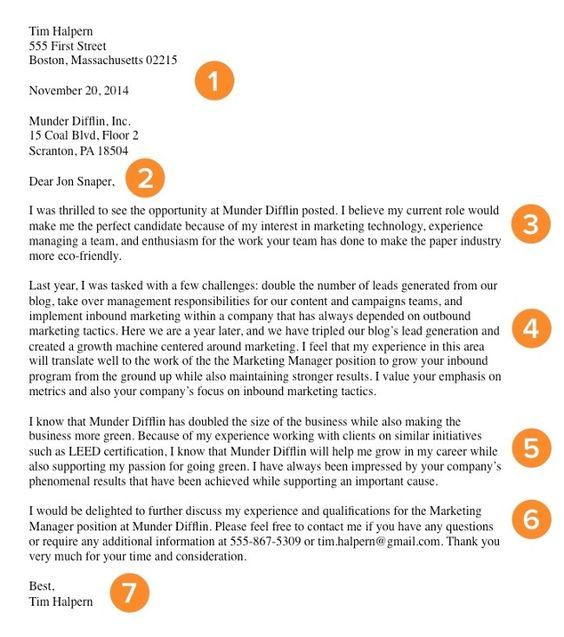 11 best cover letter images on Pinterest Cover letters - elements of a good cover letter