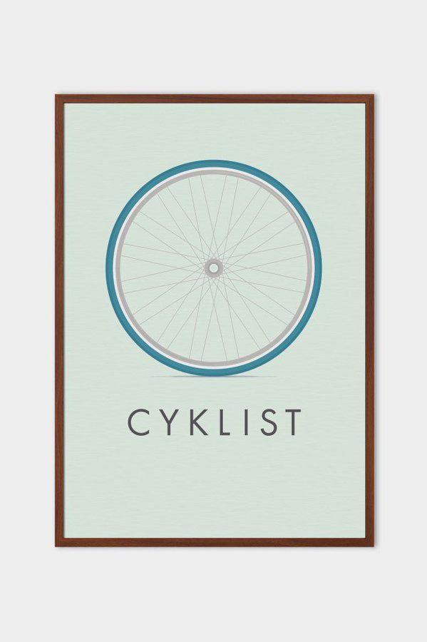 #cyclerevolution our Cyklist art print  via @emerybloom