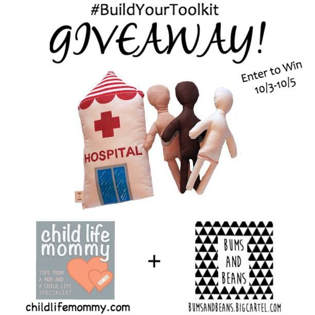 Get a chance to win a limited edition hospital pillow and surgi doll  created by