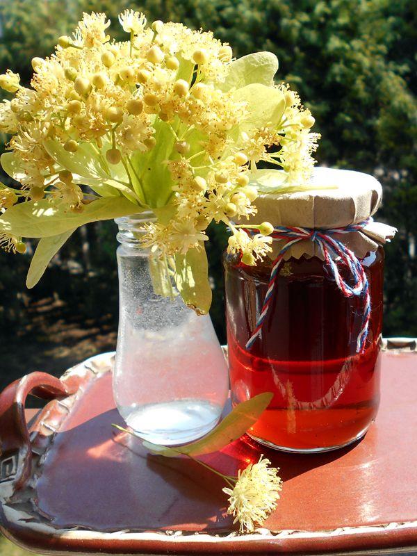 Voňavý Lipový sirup / Linden flower syrup