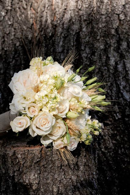 Wheat Arrangements for Weddings | Wheat Bridal Bouquet. Photo by Something Pretty Fine Art Photography