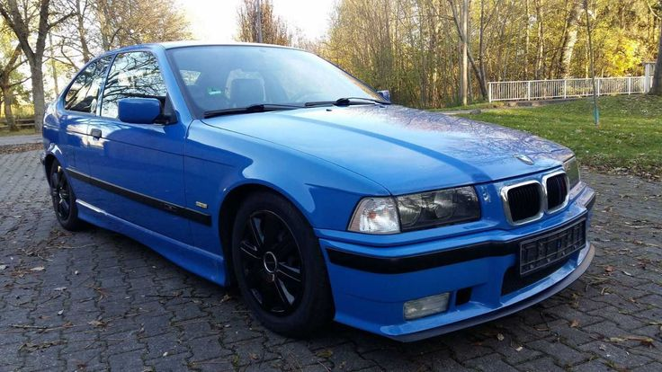 BMW 316i E36 Compact, M-Packet, TÜV 07-2019