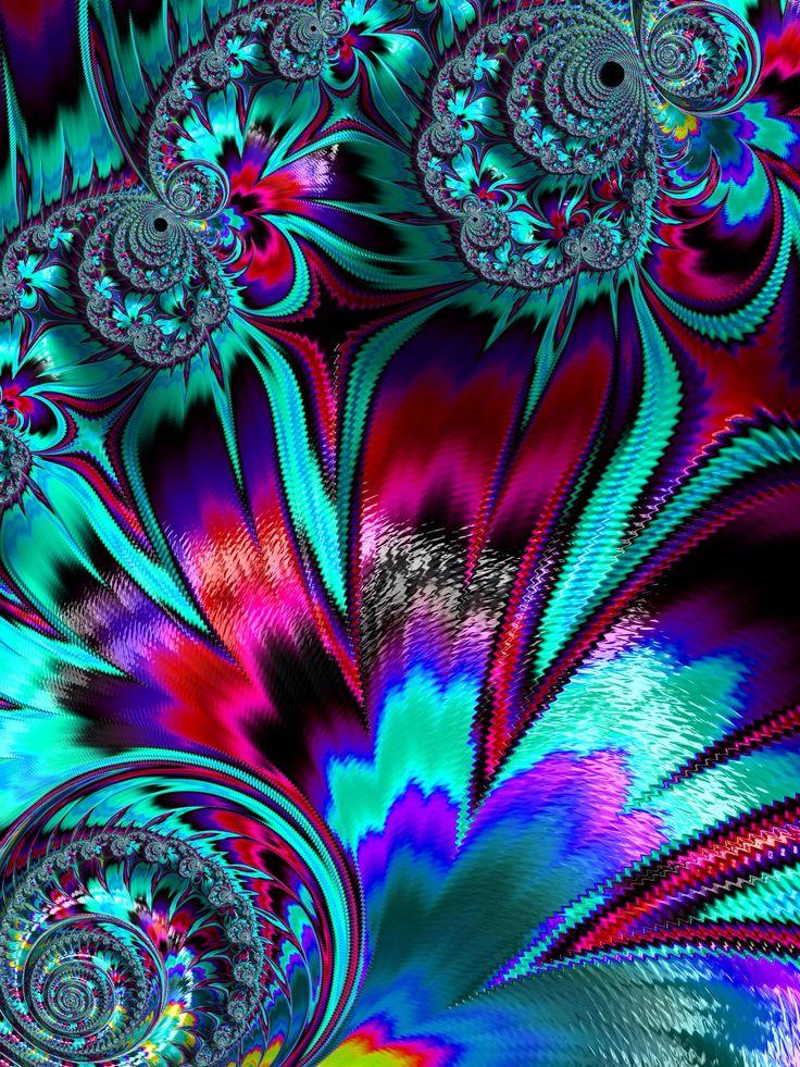 965 best beautiful color fractals amp designs images on