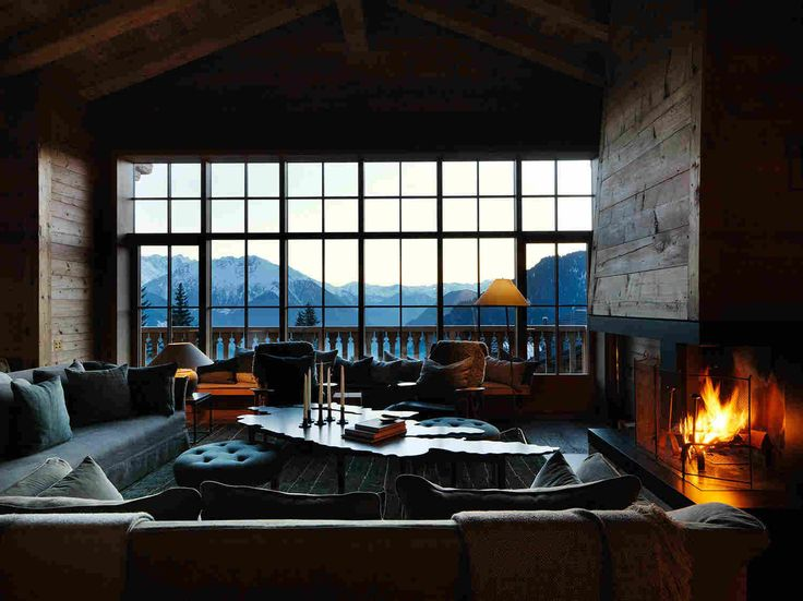 Уютное шале с видом на Швейцарские Альпы