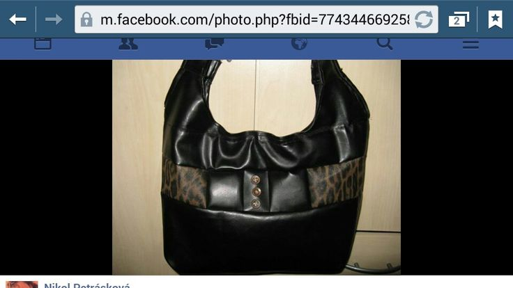 DIY kabelka s leopardem