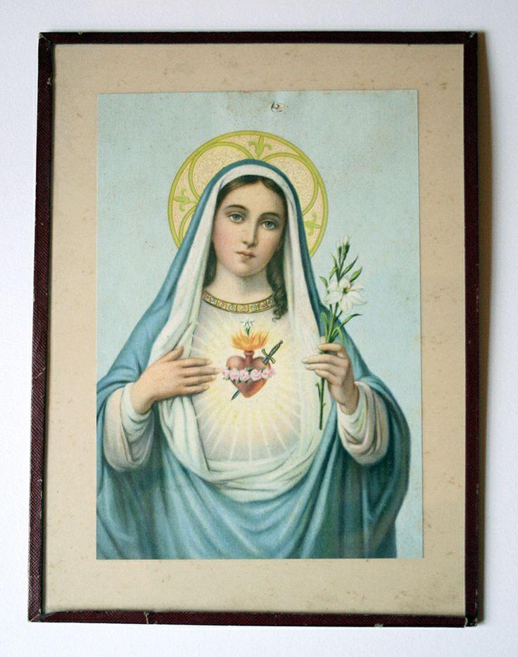 Le coeur sacré de Mariehttp://cartabille.bigcartel.com/product/marie-au-coeur-sacre