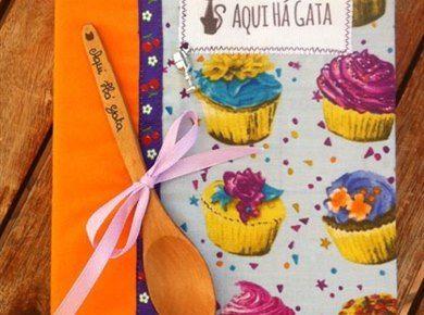 Livro de Receitas Médio Cupcakes Azul/Laranja | Aqui há Gata Receitas Simples - www.aquihagata.com/pt/livro-de-receitas-medio-cupcakes-azul/laranja
