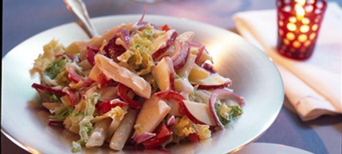 Wir lieben Grillen - Festlicher Miracel Whip Nudelsalat mit Wirsing