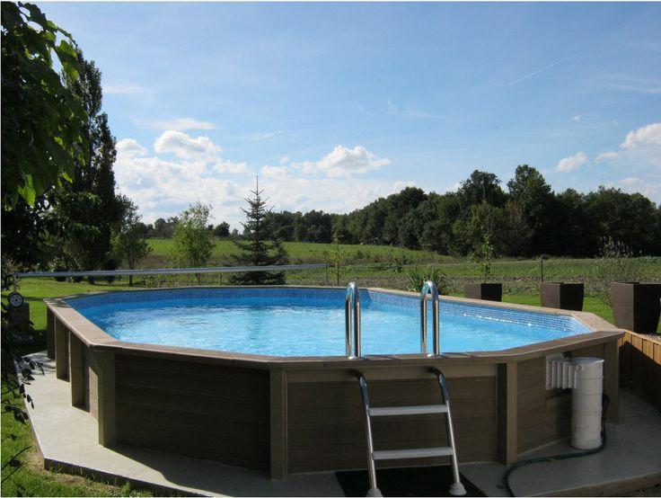 piscine en b ton auchan achat piscine piscine ovale en