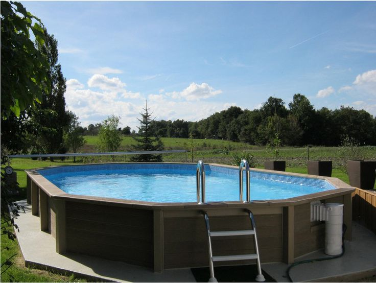 piscine en b ton auchan achat piscine piscine ovale en b ton 6 35 x 4 72 x 1 40 prix promo