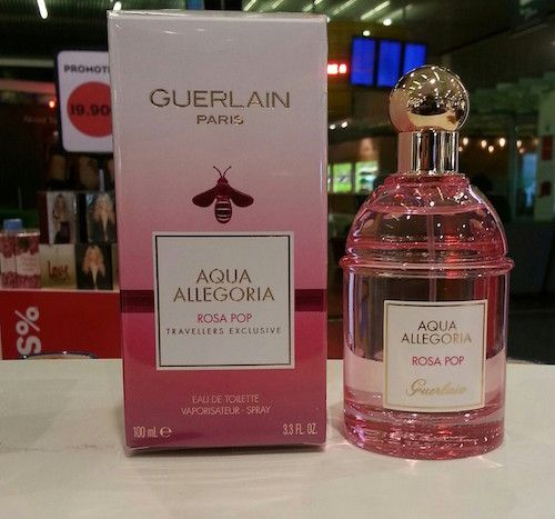 Guerlain Pera Granita, Rosa Pop: new fragrances ~ The fruity floral fragrance, coming in a light pink hued presentation, is focused on the following fragrant notes: Top notes of grapefruit, bergamot, lemon; Heart notes of orange blossom, osmanthus, pear; Base notes of moss, white musk and cedarwood.